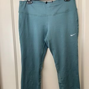 Sage blue/green nike running Capri